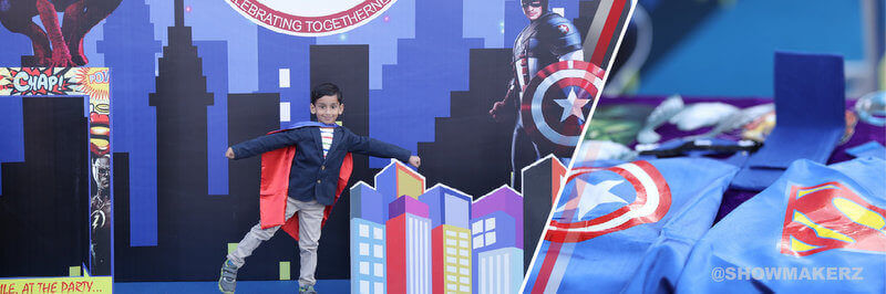 Superhero Theme Family Day Event